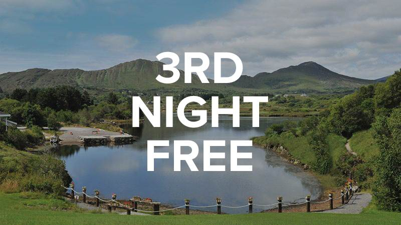 Stay 2 Nights, get 3rd night free - From €220